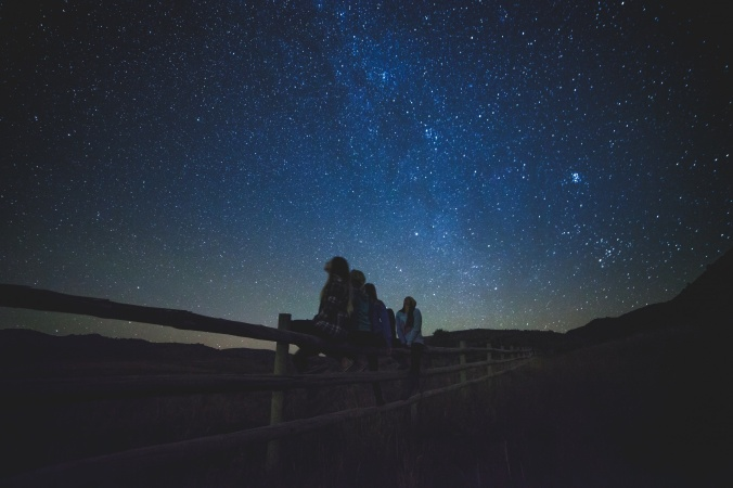 looking at stars